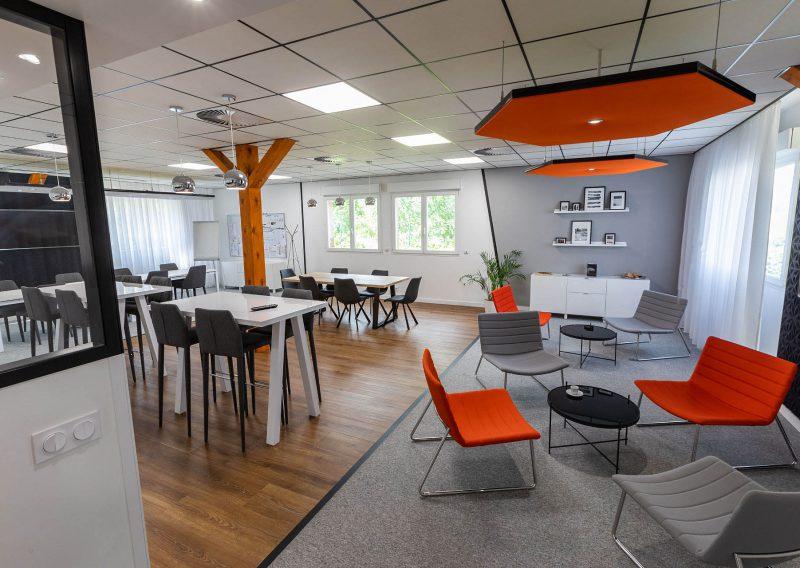Création d'un espace coworking